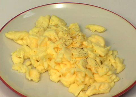 scrambled eges suck, I hate scrambled eggs