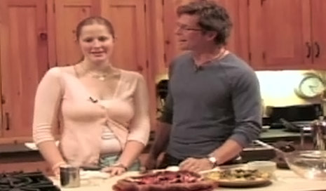 rick bayless acting creepy with his daughter lanie